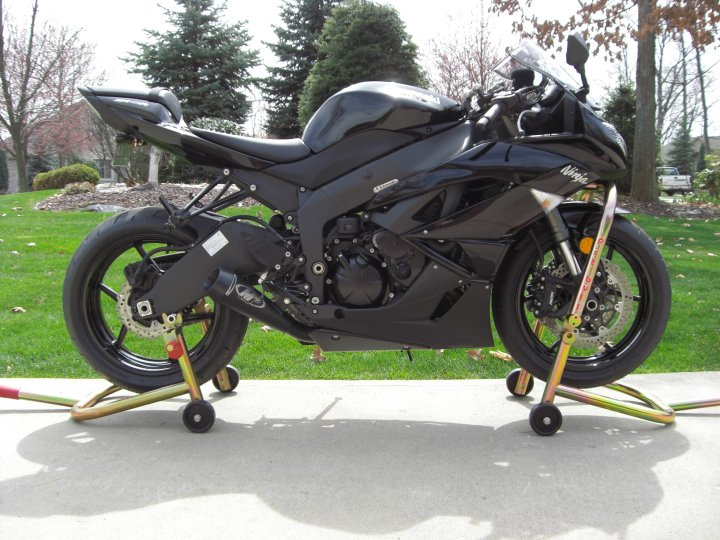 racing lower fairing and m4 exhaust