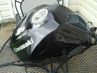 2009 2012 Kawasaki Zx6r Gas Tank Kawiforums Kawasaki