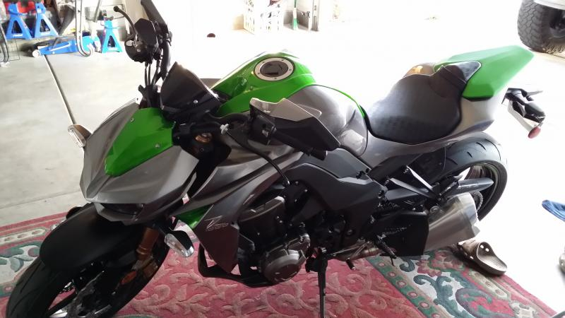 My new 2014 z1000 project kawiforums kawasaki motorcycle forums click image for larger version name 2014 01 31 160744 altavistaventures Gallery