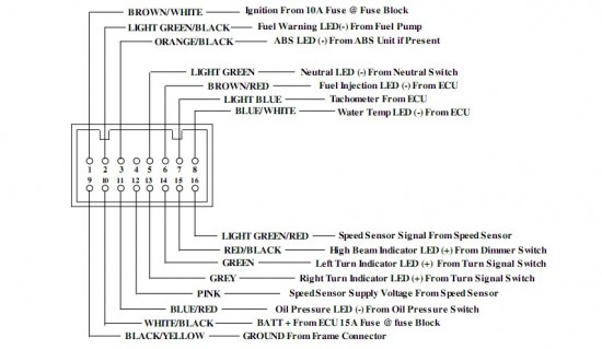 46017d1326712748 horlicks er6n db01r wiring diagram installation 650 meter gauge indicator unit connector 550x319 koso db01r wiring help needed page 2 kawiforums kawasaki Simple Circuit Diagram at gsmx.co
