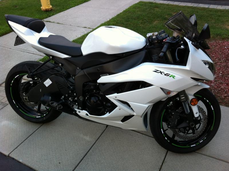 Kawasaki Zxr Fi Light