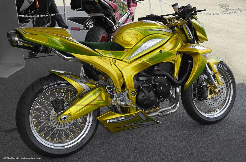 Check Out This Custom Zx6r I Found On The Net Kawiforums