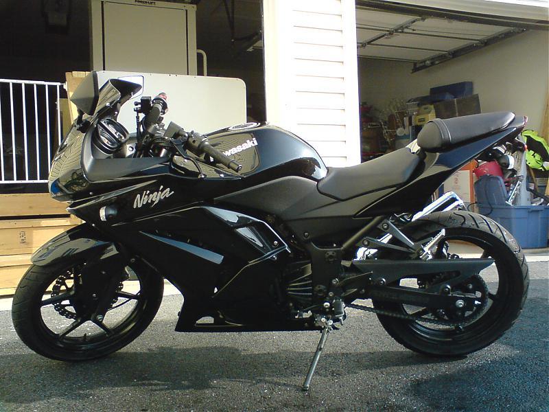 2009 Kawasaki Ninja 250 For Sale - David Batty: The Garage