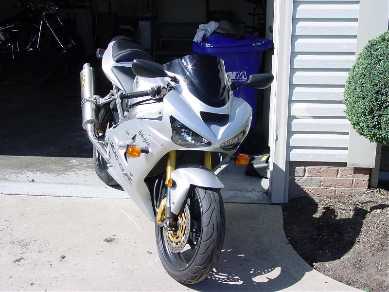 2008 ZX-14 SE arrived - KawiForums - Kawasaki Motorcycle