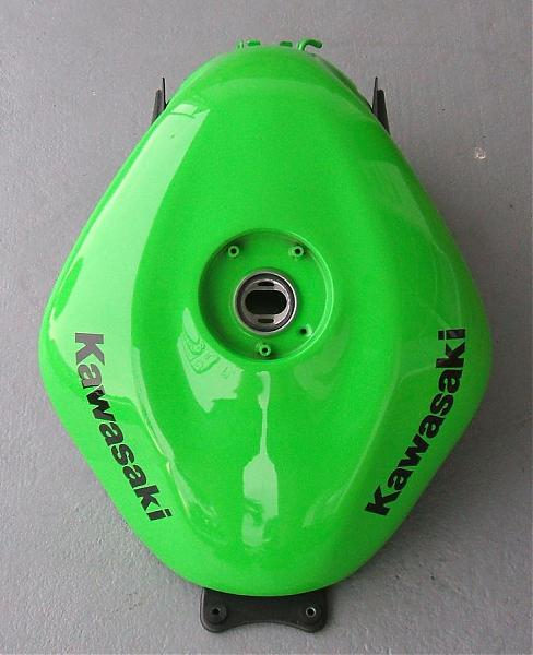 Cheapest Gas In San Diego >> 07 08 ZX6R Fuel Tank (Lime Green) - KawiForums - Kawasaki ...