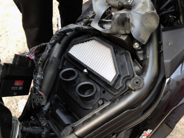 New Air Filter From Hurricane Racing For The Ninja 250r300 650