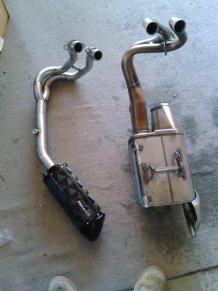 Kawasaki Motorcycle Exhaust Systems