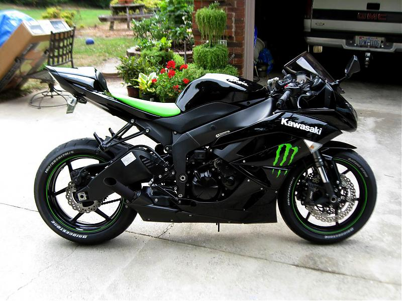 kawasaki ninja zx6r monster edition. 2009 ZX6R Monster Edition.