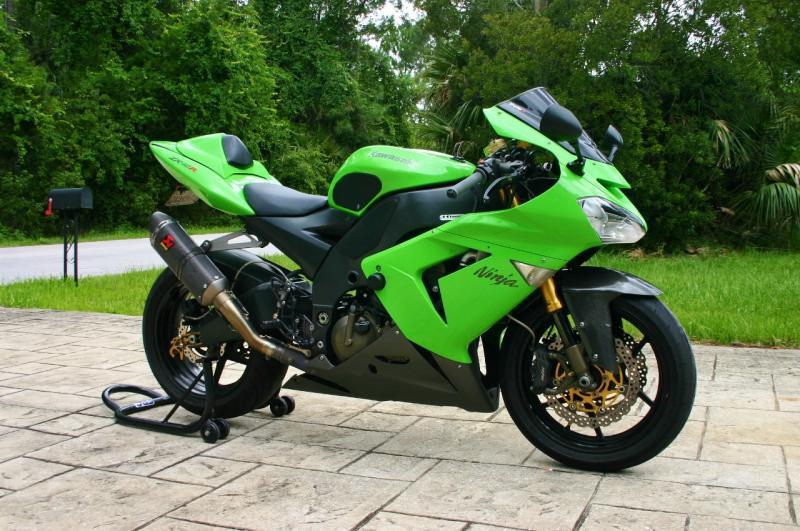 2006-2007 Kawasaki ZX10R Yoshimura Exhaust Full System