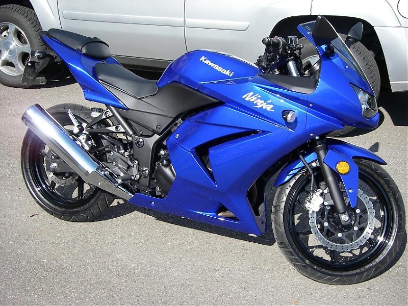 Kawasaki Ninja 250r Blue идеи изображения мотоцикла