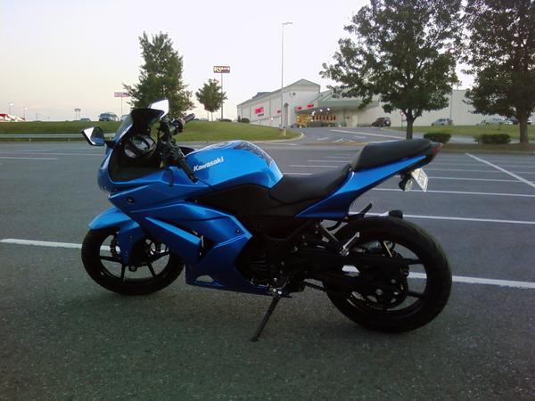 Used Kawasaki Ninja 250r идеи изображения мотоцикла