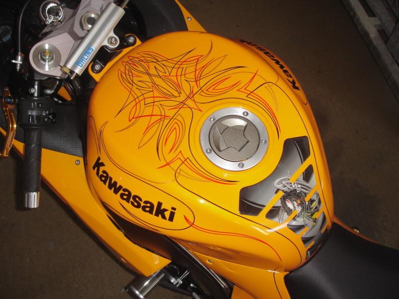 Pinstriping on sport bike? - KawiForums - Kawasaki Motorcycle Forums