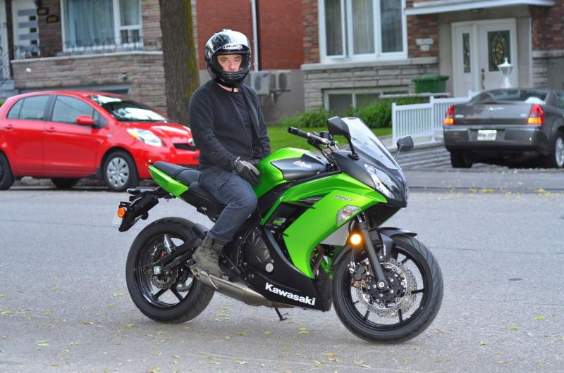Frairing buzzing sound Ninja 650 2012-13...Any recall yet ...