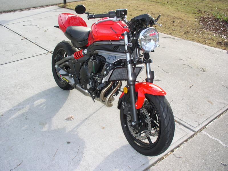 Kawasaki Ninja R Headlight Conversion