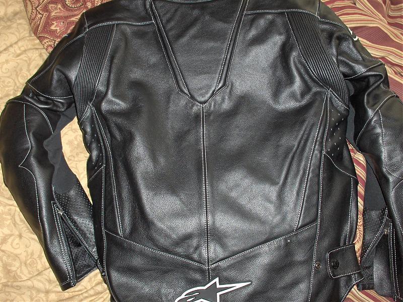 93f80c148 Alpinestars Stage Leather Jacket, practically new - KawiForums ...