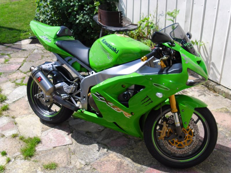 2003 Zx6r Full Titanium Akrapovic Exhaust System Kawiforums