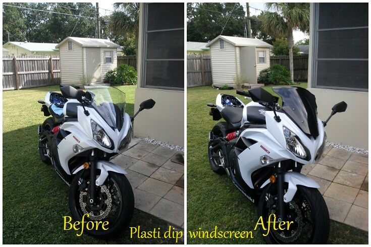 2013 Ninja 650 MODS! Fender eliminator, frame sliders, windscreen and more!-tinted-shield.jpg