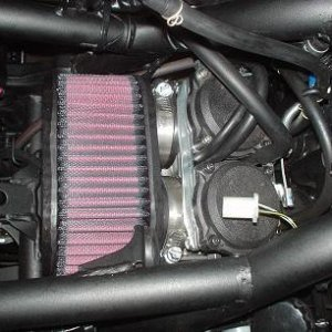 Air Filter Install on a 2008 250r