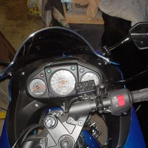 Puig wind screen for an '08 250r